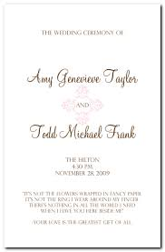 thank yous on wedding programs pink design events wedding program booklet for and todd