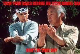 Karate Kid Meme - awesome nerd karate kid meme pics for funny karate kid meme