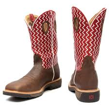 twisted x s boots twisted x distressed cherry steel toe work boot