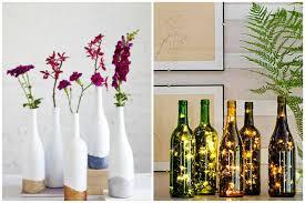 Upcycled Wine Bottles - 3 fun ways to upcycle wine bottles rl