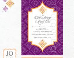 theme invitations moroccan invitation etsy