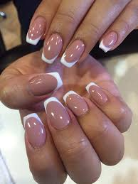i u0027m loving this untraditional french tip ballerina acrylic fill