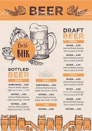 beer cafe menu template design stock vector art 513103958 istock