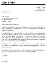 cover letter sample for intermediate level job candidates