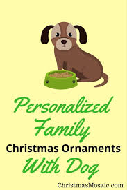 image collection family personalized christmas ornaments all can