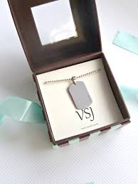 personalized jewelry gift boxes men s gift box mens dog tag necklace mens jewelry personalized