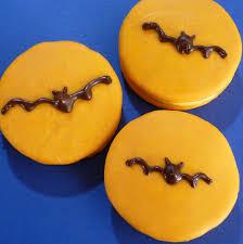 bats moon pies u003d simple halloween treat sweet simple stuff