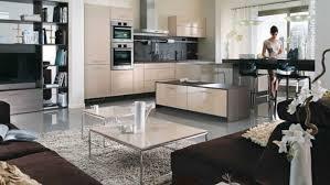 cuisine et salon ouvert cuisine ouverte salon 2017 avec cuisine moderne ouverte sur galerie