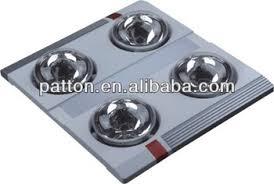 portable bathroom ceiling heat lamp lingpiu 3in1 functions