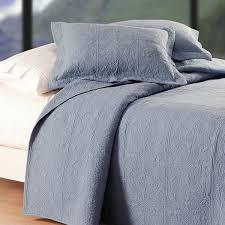 Colonial Coverlets Colonial Blue Matelasse Quilt Shams Not Included On Sale