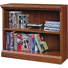 Bookshelves Cherry by Sauder Premier 36 U0027 U0027 5 Shelf Bookcase Planked Cherry 1785 100