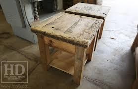 reclaimed wood end table reclaimed wood end table nightstand 27 blog