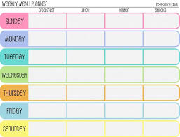 printable meal planner free weekly meal plan no eating out this week my daughter is done with