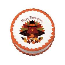 happy thanksgiving turkey edible image designs oasis supply company