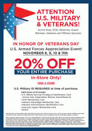 20 Off Entire Purchase Bed Bath And Beyond Alicias Deals In Az U2013 Veterans Day Freebies And Deals Just For Vets