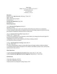 sample camp counselor resume useful materials for summer youth