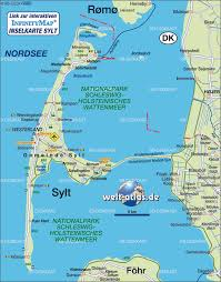 Map Of Germany And France Sylt Germany Map France Map