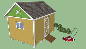 8x12 garden shed plans howtospecialist how to build step by