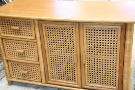 Wicker Bathroom Furniture Rattan Cabinets Bar Cabinet