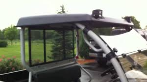 gr manufacturing mule 610 utv roof review youtube