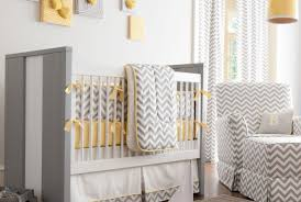 bedding set pink and gray chevron crib bedding awesome grey and