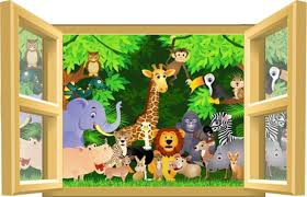 chambre enfant jungle decoration chambre jungle dcoration chambre bb jungle sticker