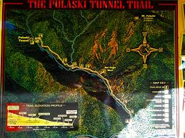 Idaho Fires Map The Pulaski Tunnel Trail Near Wallace Id A Forest Service