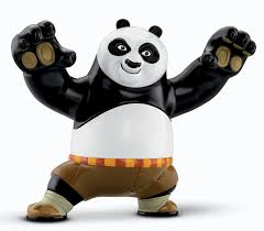 amazon fisher price kung fu panda 2 fierce fighting po figure