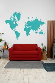 World Map Wall Sticker by 137 Best Interior World Maps Images On Pinterest Wall Maps