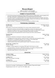 Resume Profile Examples by Resume Profile Examples For Teachers