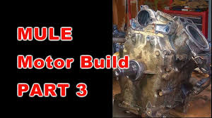 kawasaki mule motor build part 3 of 3 youtube