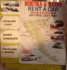 rent a car peugeot dimitra and manos rent a car rent hire cars in san stefanos