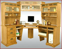 Oak Desk With Hutch Oak Desk With Hutch Oak Desk With Hutch Large Corner Computer Desk