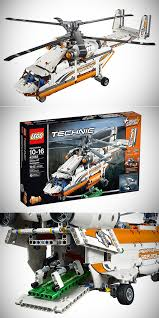technic pieces technic heavy lift helicopter features motorized functions and