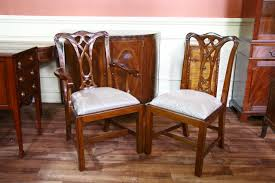 mahogany dining room set mahogany dining room chairs chippendale chairs