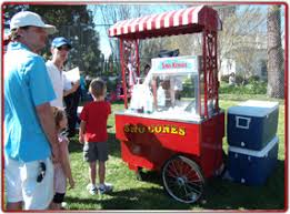snow cone rental snow cone carts machines rental catering in los angeles barts