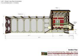 Chicken Coop Floor Plan Home Garden Plans L102 Chicken Coop Plans Construction