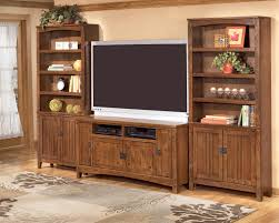 Mission Style Kitchen Cabinet Hardware by 60 Inch Oak Tv Stand With Mission Style Hardware By Ashley
