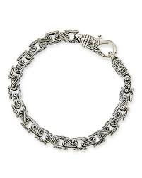 mens black link bracelet images Konstantino mens bracelet neiman marcus jpg