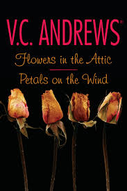 Flowers In A Book - flowers in the attic petals on the wind book by v c andrews