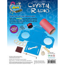 crystal radio mini lab kids science kits by scientific explorer
