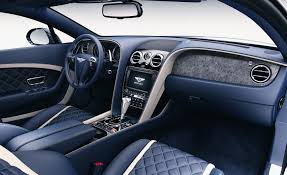 bentley spur interior bentley now offering stone interior veneer u2013 news u2013 car and driver