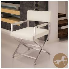Leather Dining Chair With Chrome Legs Accessories Interactive Chair Furniture For Living Room
