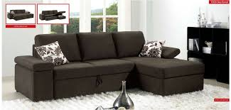 Sleeper Sofa With Storage 1000 Esf Modern Fabric Sleeper Sectional With Storage