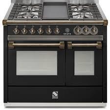 piano de cuisine electrique piano de cuisson steel ascot 100 cm 2 fours a10sf 4t dcharby