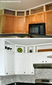 ideas for space above kitchen cabinets kitchen before and after utilizing the space above cabinets and