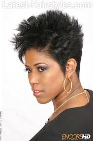 very short razor cut hairstyles black hairstyles for oval faces approved by celebrities