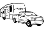 pickup trucks coloring pages free printable pictures