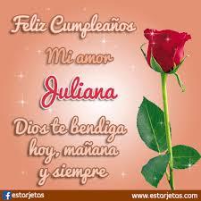 imagenes que digan feliz cumpleaños mi reina felíz cumpleaños juliana imágenes gifs de cumpleaños estarjetas com