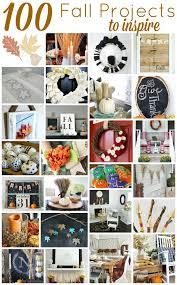 Home Diy Projects by 100 Fall Diy Project Ideas Crafts Decor U0026 More Setting For Four